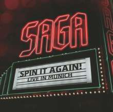 Saga: Spin It Again!  Live In Munich 2012, 2 CDs