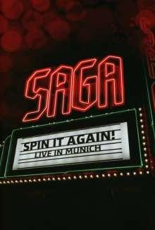 Saga: Spin It Again! Live In Munich 2012, DVD