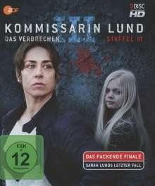Kommissarin Lund Staffel 3 (Blu-ray), 3 Blu-ray Discs