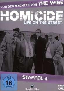 Homicide Season 4, 3 DVDs