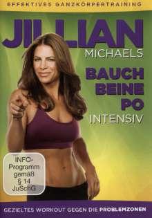 Jillian Michaels: Bauch, Beine, Po intensiv, DVD