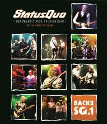 Status Quo: Back 2 SQ.1 - The Frantic Four Reunion 2013: Live At Wembley Arena, 2 Blu-ray Discs