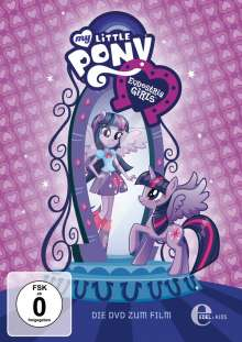 My Little Pony - Equestria Girls, DVD