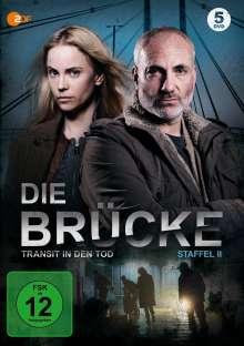 Die Brücke - Transit in den Tod Staffel 2, 5 DVDs