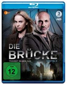 Die Brücke - Transit in den Tod Staffel 2 (Blu-ray), 3 Blu-ray Discs