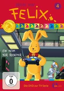 Briefe von Felix - Ein Hase auf Weltreise Vol. 4: Ein Heim für Roboter, DVD