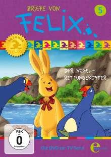 Briefe von Felix - Ein Hase auf Weltreise Vol. 5: Der Vogel-Rettungs-Koffer, DVD
