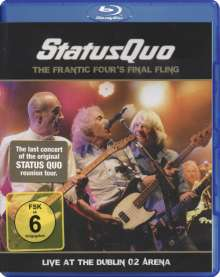 Status Quo: The Frantic Four's Final Fling: Live In Dublin 2014 (Blu-ray + CD), 1 Blu-ray Disc und 1 CD