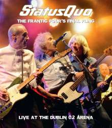 Status Quo: The Frantic Four's Final Fling: Live In Dublin 2014, 1 DVD und 1 CD