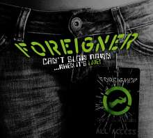 Foreigner: Can't Slow Down... When It's Live!, 2 LPs