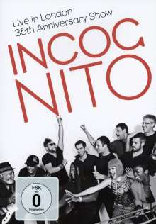 Incognito: Live In London 2014: 35th Anniversary Show, DVD
