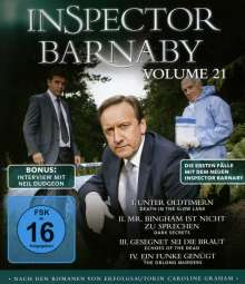 Inspector Barnaby Vol. 21 (Blu-ray), 2 Blu-ray Discs