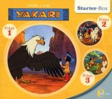 Yakari - Starter-Box 1, 3 CDs
