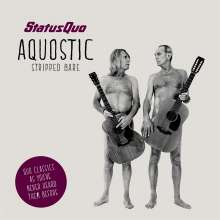 "Status Quo: Aquostic (Stripped Bare) (Boxset) (CD + 7"" Single + T-Shirt Gr. L), CD"