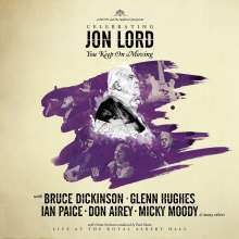 "Jon Lord (1941-2012): Celebrating Jon Lord: You Keep On Moving, Single 7"""