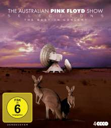 The Australian Pink Floyd Show: Selections - The Best In Concert (Box), 4 Blu-ray Discs