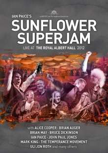 Ian Paice's Sunflower Superjam: Ian Paice's Sunflower Superjam: Live At The Royal Albert Hall 2012 (DVD + CD) (DVD-Format), 1 DVD und 1 CD