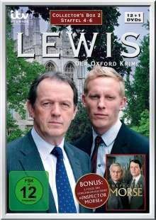 Lewis: Der Oxford Krimi Staffel 4-6, 13 DVDs