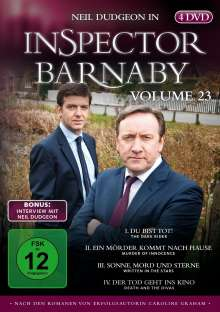 Inspector Barnaby Vol. 23, 4 DVDs