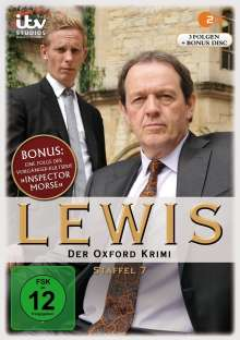 Lewis: Der Oxford Krimi Season 7, 4 DVDs