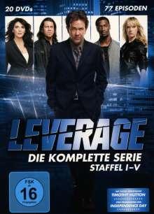 Leverage (Komplette Serie), 20 DVDs