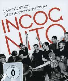 Incognito: Live In London 2014: 35th Anniversary Show, Blu-ray Disc