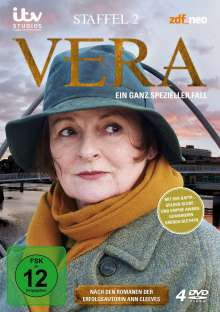 Vera Staffel 2, 4 DVDs