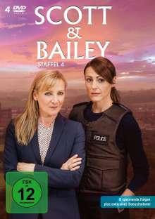 Scott & Bailey Staffel 4, 4 DVDs