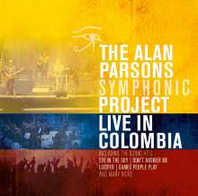 The Alan Parsons Symphonic Project: Live In Colombia 2013, 2 CDs