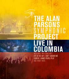 The Alan Parsons Symphonic Project: Live In Colombia 2013, Blu-ray Disc