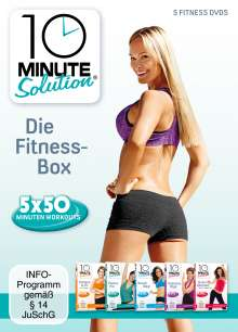 10 Minute Solution - Die Fitness Box, 5 DVDs