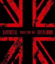 Babymetal: Live In London: Babymetal World Tour 2014, 2 Blu-ray Discs