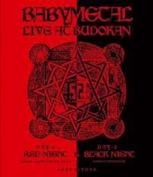 Babymetal: Live At Budokan: Red Night & Black Night Apocalypse, Blu-ray Disc