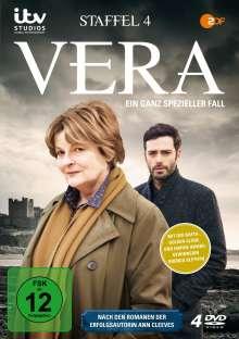 Vera Staffel 4, 4 DVDs