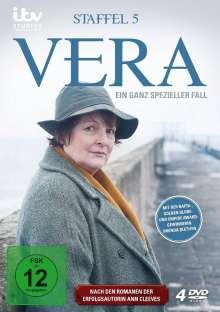Vera Staffel 5, 4 DVDs