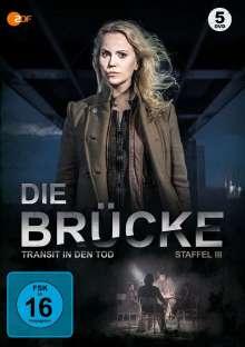 Die Brücke - Transit in den Tod Staffel 3, 5 DVDs
