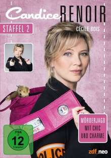 Candice Renoir Staffel 2, 4 DVDs