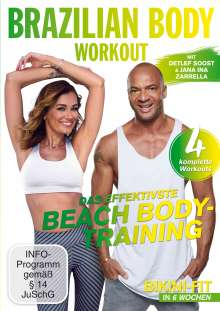 Brazilian Body Workout - Das effektivste Beach Body-Training, DVD