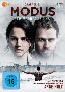 Modus - Der Mörder in uns Staffel 1, 4 DVDs