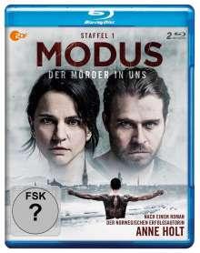 Modus - Der Mörder in uns Staffel 1 (Blu-ray), 2 Blu-ray Discs