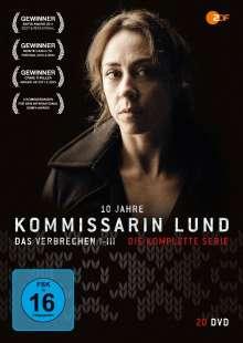 Kommissarin Lund (Komplette Serie), 20 DVDs