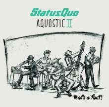 Status Quo: Aquostic II - That's A Fact!, CD