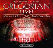 Gregorian: LIVE! Masters Of Chant - Final Chapter Tour (Limited-Edition) (CD-Digipack-Format), 2 CDs