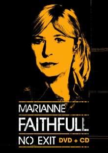 Marianne Faithfull: No Exit: Live 2014, 1 DVD und 1 CD