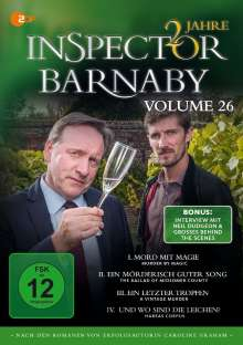 Inspector Barnaby Vol. 26, 4 DVDs
