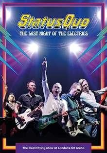 Status Quo: The Last Night Of The Electrics, DVD