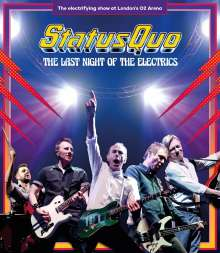 Status Quo: The Last Night Of The Electrics, Blu-ray Disc