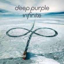 Deep Purple: inFinite (Limited Box Set mit T-Shirt, schwarzes Albumlogo Gr. L), 1 CD, 1 DVD und 1 T-Shirt
