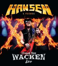 Kai Hansen: Thank You Wacken: Live (Limited-Edition), CD