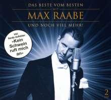 Max Raabe: Das Beste vom Besten mit Max Raabe, 2 CDs